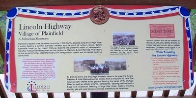 Village of Plainfield Marker image. Click for full size.
