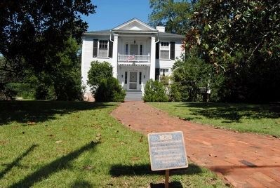 Toombs-Anderson House and Marker image. Click for full size.