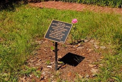 Tarver-Maynard House Marker image. Click for full size.