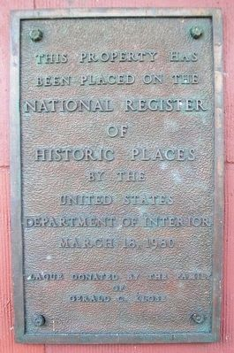 Paramount Theatre NRHP Marker image. Click for full size.