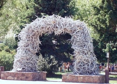 Antler Arch of Jackson WY image. Click for full size.