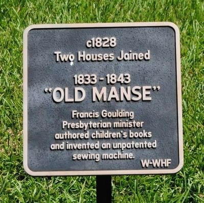 Old Manse Marker image. Click for full size.