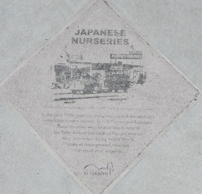 Japanese Nurseries Marker image. Click for full size.