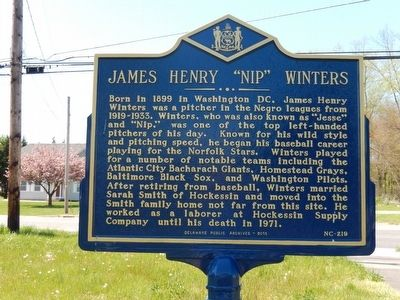 "James Henry ""Nip"" Winters Marker image. Click for full size."