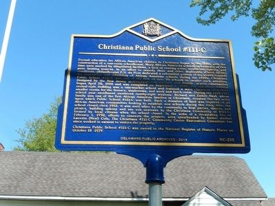 Christiana Public School #111-C Marker image. Click for full size.