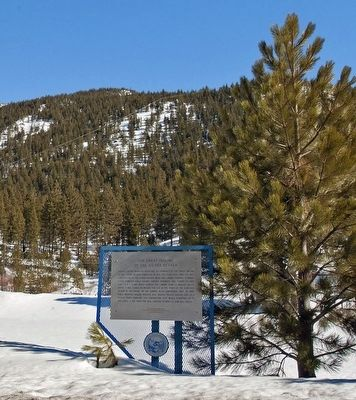 The Great Incline of the Sierra Nevada Marker image. Click for full size.