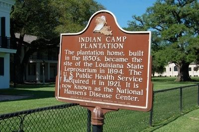 Indian Camp Plantation Marker image. Click for full size.