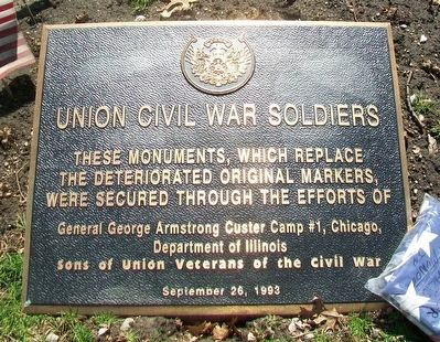 Union Civil War Soldiers Marker image. Click for full size.