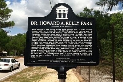 Dr. Howard A. Kelly Park Marker image. Click for full size.