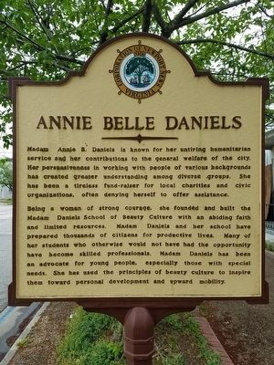 Annie Belle Daniels Marker image. Click for full size.