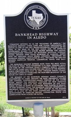 Bankhead Highway in Aledo Texas Historical Marker image. Click for full size.