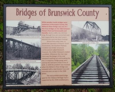 Bridges of Brunswick County Marker image. Click for full size.