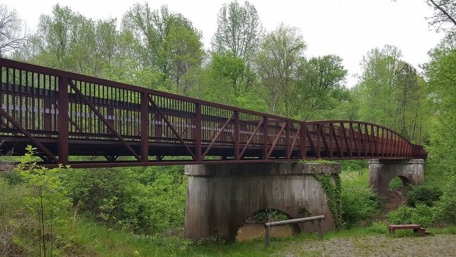 Tobacco Heritage Trail - Meherrin River Bridge image. Click for full size.