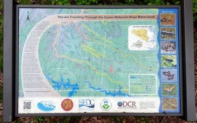 You are Traveling Through the Scenic Meherrin River Watershed! Marker image. Click for full size.