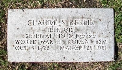 Claude Seymour Reebie Marker image. Click for full size.