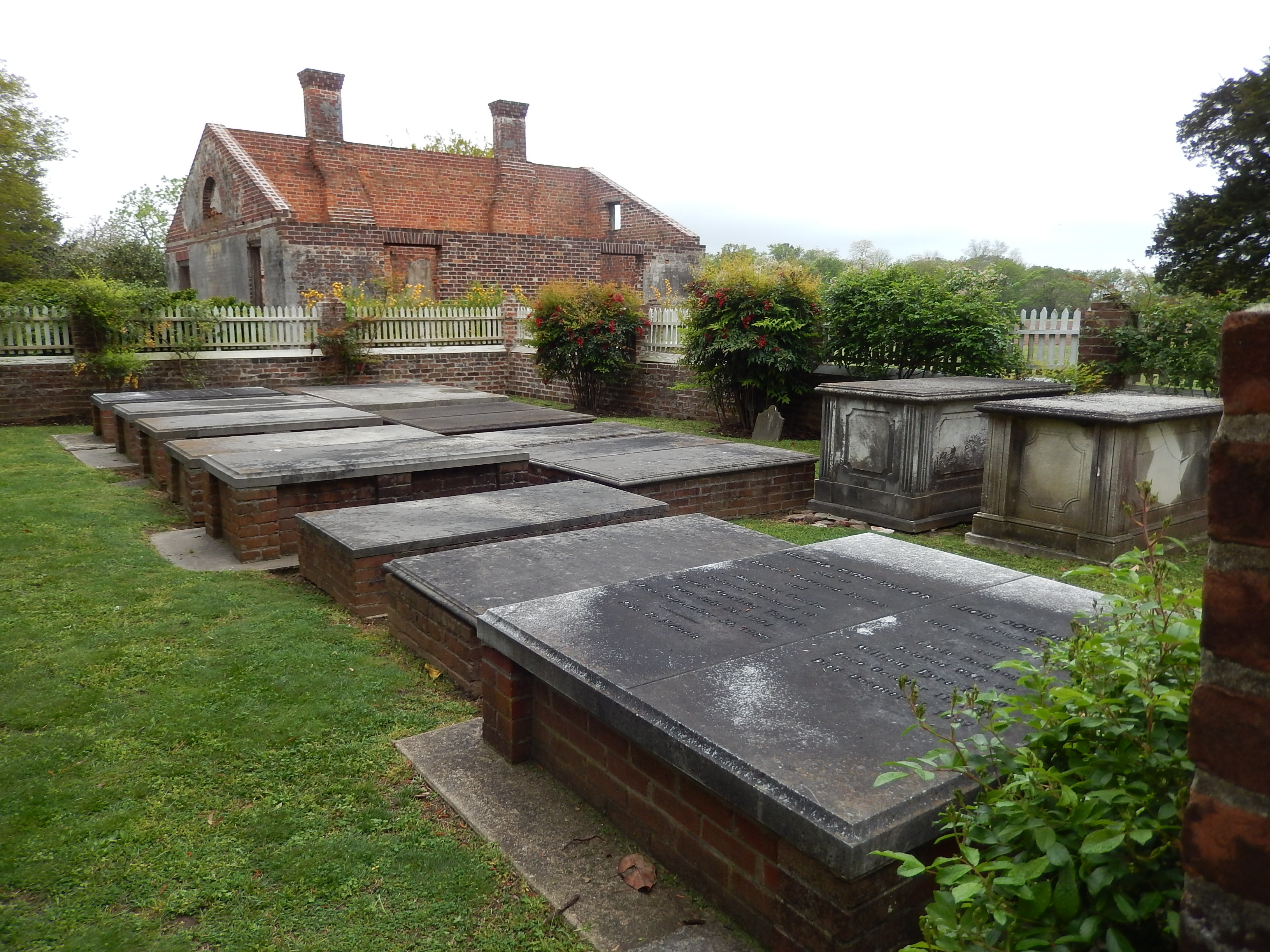 Eyre Hall Cemetery and Orangery