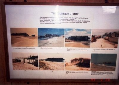 The Bunker Story Marker image. Click for full size.