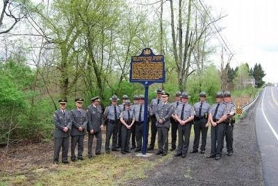 First Pennsylvania Troopers Killed in the Line of Duty Marker image. Click for full size.