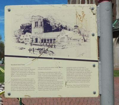 Waveland Clock Tower Marker image. Click for full size.