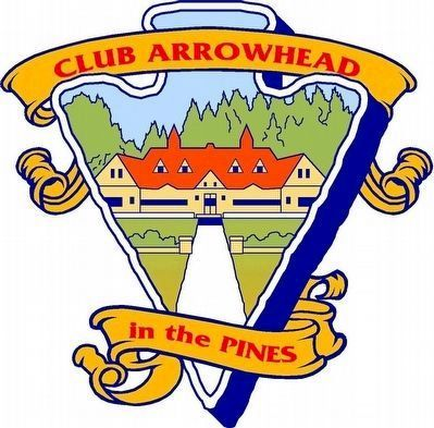 Club Arrowhead in the Pines Logo image. Click for full size.