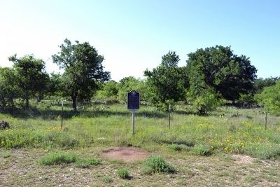 Site of Flat Top Settlement Marker image. Click for full size.