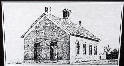 St. Rose Schoolhouse Bell Marker image. Click for full size.