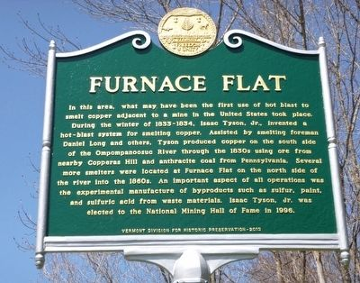 Furnace Flat Marker image. Click for full size.