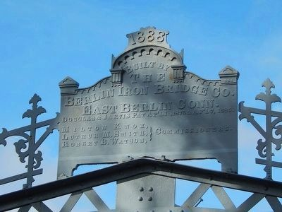 Ouaquaga Bridge Marker image. Click for full size.