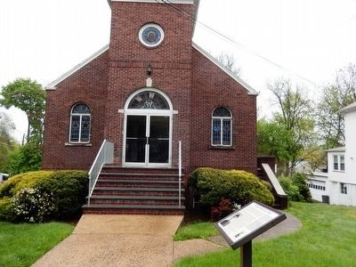 Florence Spearing Randolph Marker and Wallace Chapel AME Zion Church image. Click for full size.