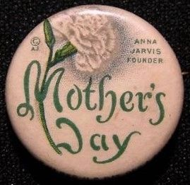 Mother's Day Campaign Button image. Click for full size.