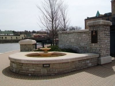 Otto J. Maha Marker and Fountain image. Click for full size.