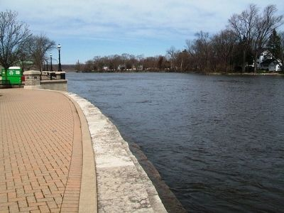 West Dundee Riverwalk Along Fox River image. Click for full size.