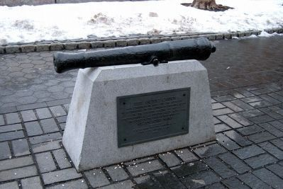 This Ancient Cannon Marker, new location image. Click for full size.