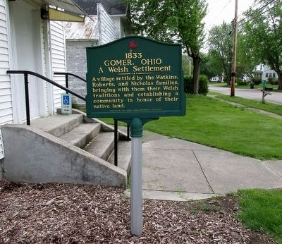 1833 Gomer, Ohio Marker image, Touch for more information