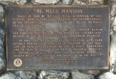 The Meek Mansion Marker image. Click for full size.