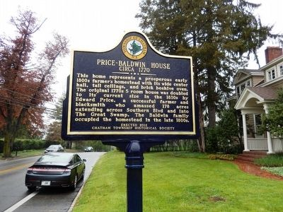 Price-Baldwin House Marker image. Click for full size.