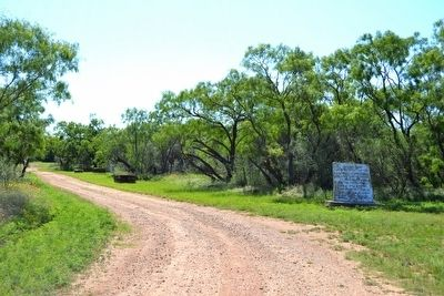 Unknown Pioneers and Trickham, Texas Markers image. Click for full size.