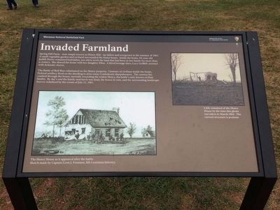 Invaded Farmland Marker image. Click for full size.