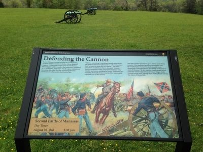 Defending the Cannon Marker image. Click for full size.