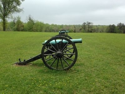 "Artillery Pieces near the ""Defending the Cannon"" Marker image. Click for full size."