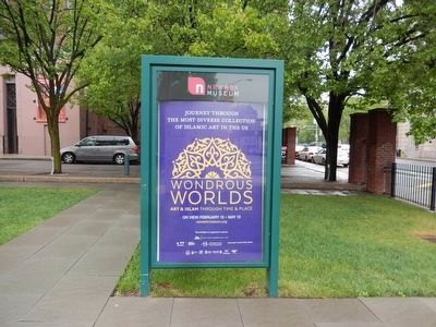 Newark Museum-Wonderous Worlds Art and Islam-poster image. Click for full size.
