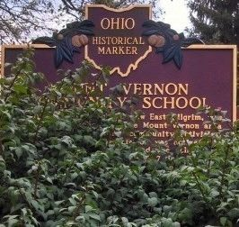 Mount Vernon Community School Marker image. Click for full size.