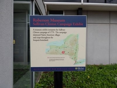 Roberson Museum Marker image. Click for full size.