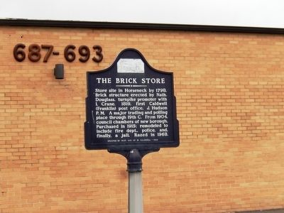 The Brick Store Marker image. Click for full size.