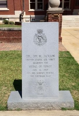 Col. Joe M. Jackson Marker image. Click for full size.