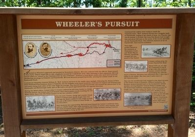 Wheeler's Pursuit Marker image. Click for full size.