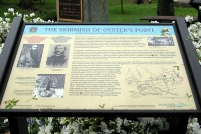 The Skirmish of Oyster's Point Marker image. Click for full size.