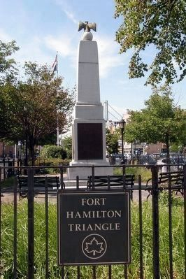 Fort Hamilton World War I Memorial image. Click for full size.