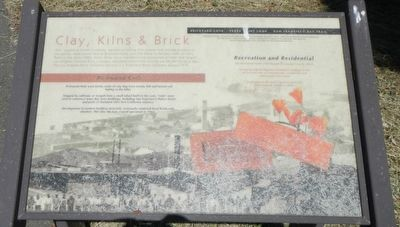 Clay, Kilns & Brick Marker image. Click for full size.