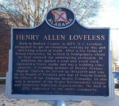 Henry Allen Loveless Marker image. Click for full size.